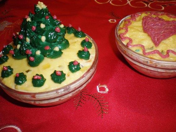 Salata de boeuf cu maioneza rapida si portii individuale