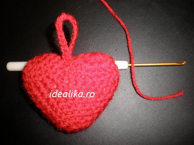 Cum crosetam inima 3 D – Videotutorial
