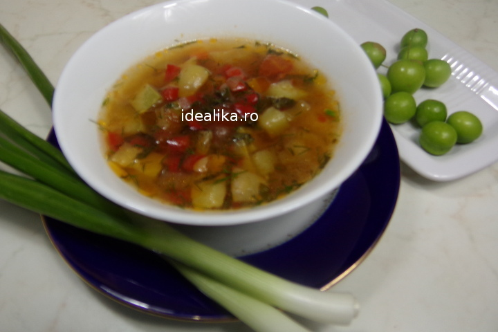 Ciorba de legume acra cu corcoduse