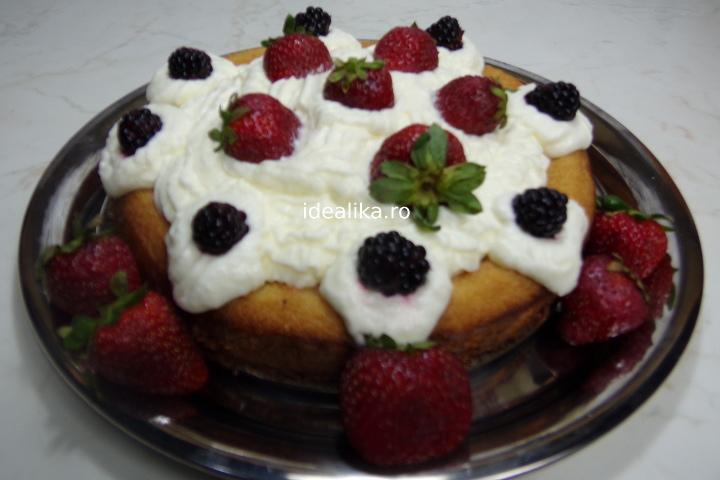 Tort Savarina cu fructe – Reteta video