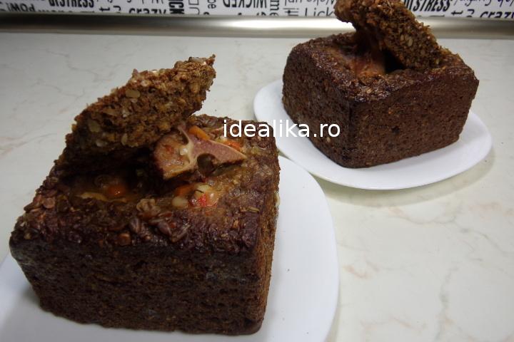 Ciorba de fasole in paine – Reteta video