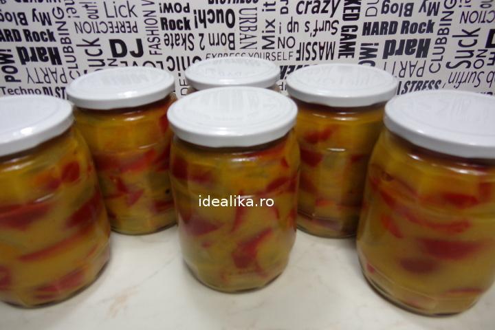 Salata de gogonele si gogosari pentru iarna – Reteta video