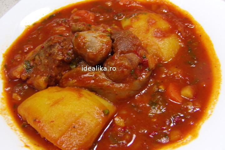 Rasol de porc cu sos si legume – Reteta video