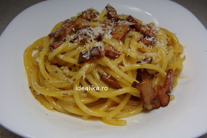 Spaghete Carbonara – Reteta video