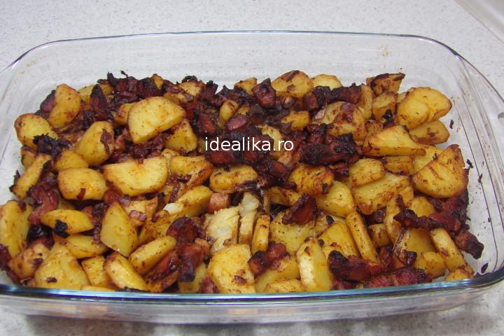 Cartofi taranesti cu bacon – Reteta video