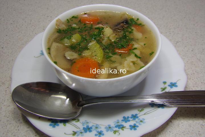 Supa de pui rapida – Reteta video
