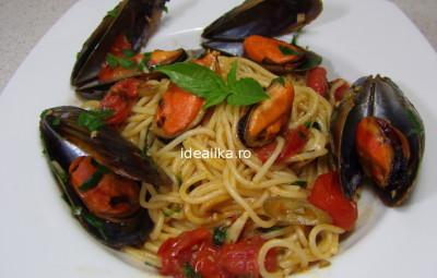 Spaghete cu midii