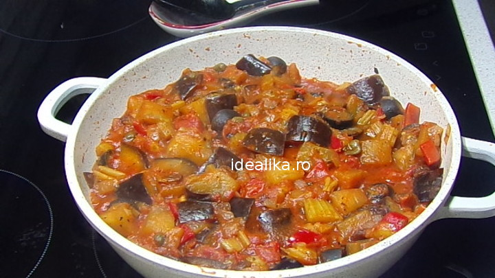 Caponata siciliana – Reteta video