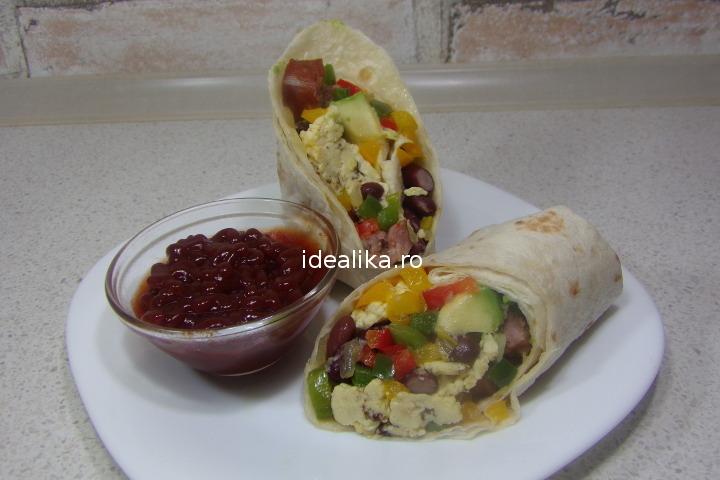 Burrito pentru micul dejun – Reteta video
