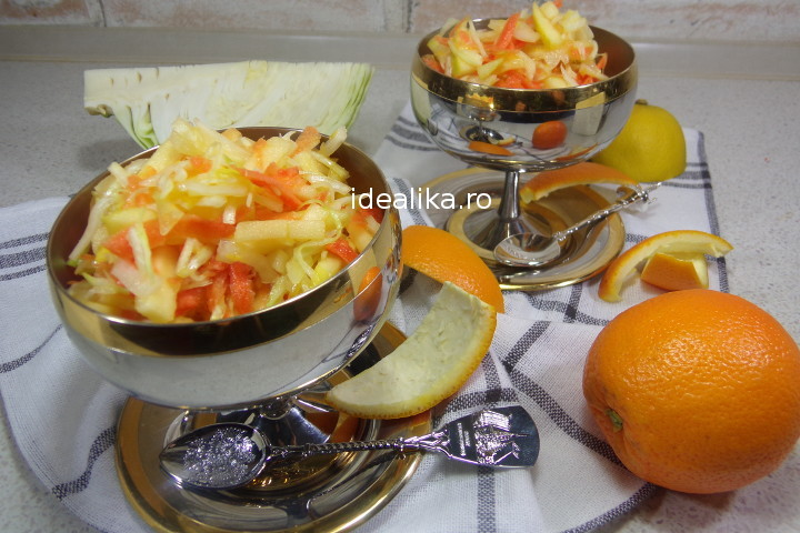 Salata detoxifianta cu varza – Reteta video