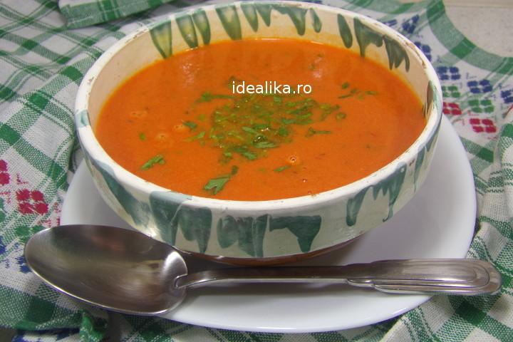Supa de rosii pentru iarna – Reteta video