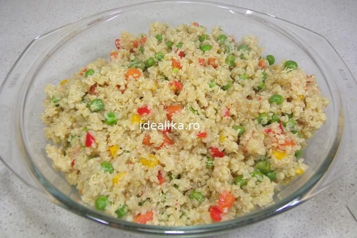 Quinoa cu legume – Reteta video
