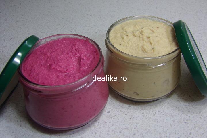 Hummus in doua variante – Reteta video