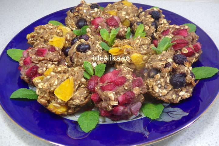 Briose de hrisca cu fructe fara gluten – Reteta video