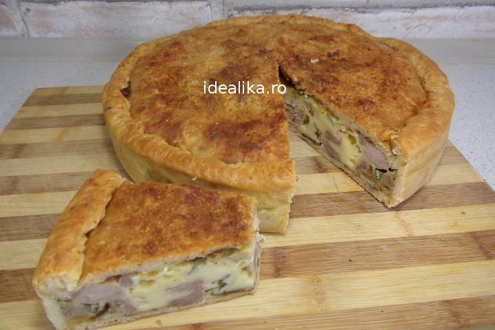 Pizza rustica / Placinta cu carne – Reteta video