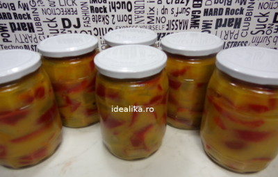 Salata de gogonele cu gogosari